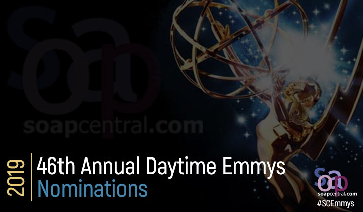 NOMINATIONS: 46th Annual Daytime Emmy nominations announced