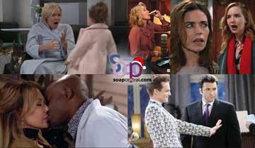 A sneak peek at what happens on B&B, DAYS, GH, and Y&R the week of December 10