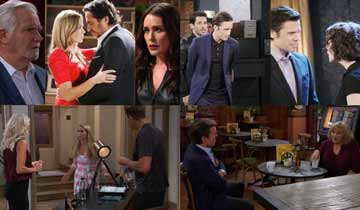 A sneak peek at what happens on B&B, DAYS, GH, and Y&R the week of September 28