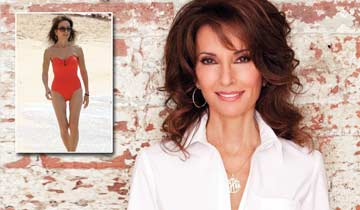 WATCH: AMC's Susan Lucci rocks fabulous beach bod, is shocked by fans' response