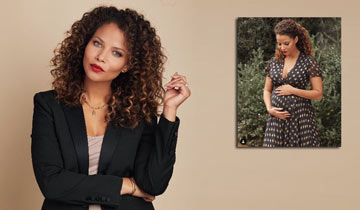 AMC's Denise Vasi has a new baby on board