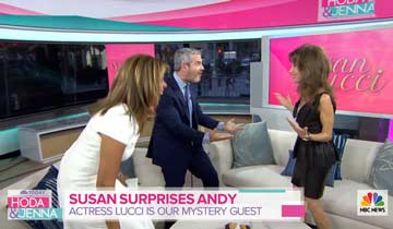 All My Children's Susan Lucci surprises super soap fan Andy Cohen