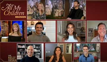 WATCH: All My Children reunion honors Kelly Ripa's anniversary at ABC