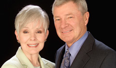 Don Hastings and Kathryn Hays