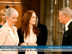 Julianne Moore Returning To Her Daytime Roots As The World