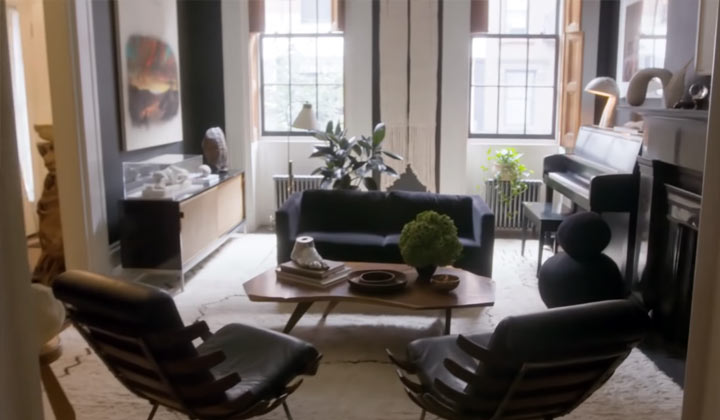 ATWT alum Julianne Moore gives a video tour of her NYC home