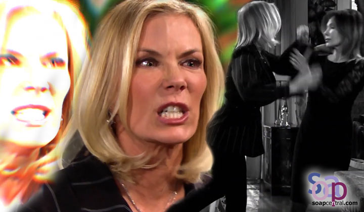 Brooke warns Taylor to stay away from Ridge