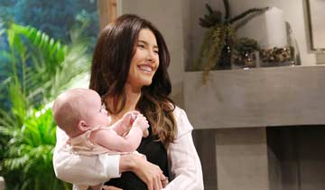B&B's Steffy returns; baby drama blows up in her face