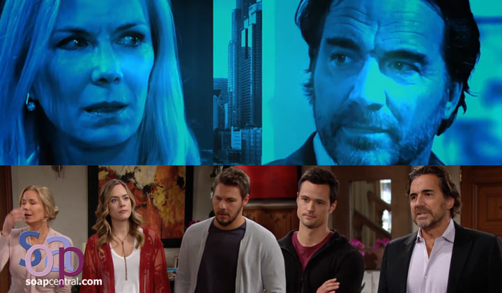 Brooke and Ridge are at odds when a custody battle breaks out