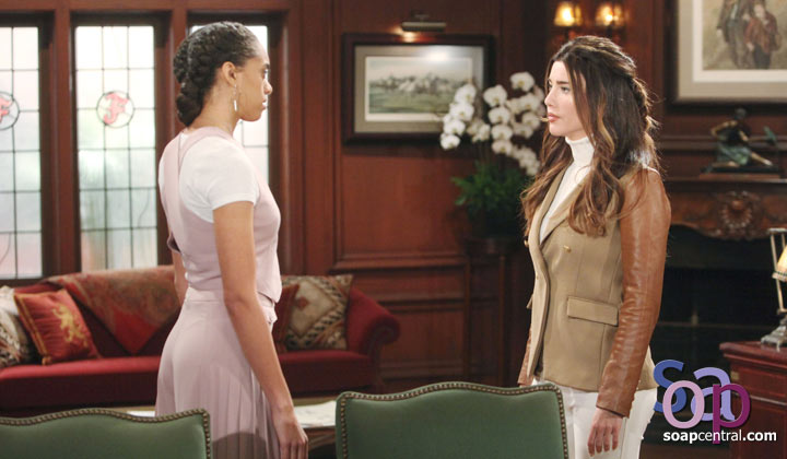 Zoe offers an apology to Steffy