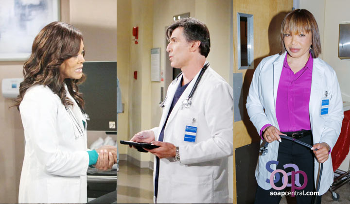 Robin Givens. Vincent Irizarry, Tisha Campbell. Is there another actor or actress you'd like to see as a B&B doctor?