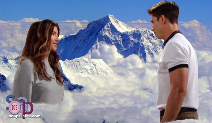 Steffy and Finn shared their first kiss. What did you think?