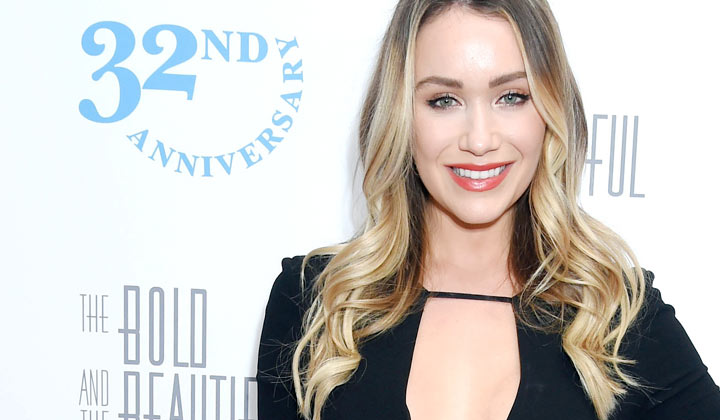 Katrina Bowden returns to The Bold and the Beautiful -- with scary tales about shark encounters!