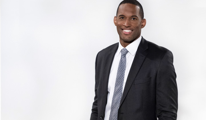 B&B's Lawrence Saint-Victor on heartbreak with Zoe, Carter's future, and being back on contract