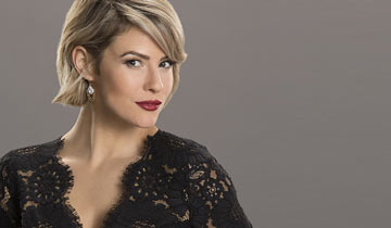Linsey Godfrey reacts to the death of B&B's Caroline Spencer