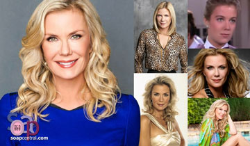"""She's not dumb!"" Katherine Kelly Lang delves deep into B&B's Brooke"