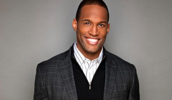 B&B's Lawrence Saint-Victor writes another episode of the CBS soap opera
