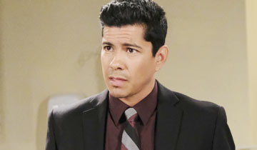 B&B brings Jeremy Ray Valdez back as detective Alex Sanchez
