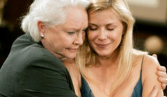 Susan Flannery and Katherine Kelly Lang