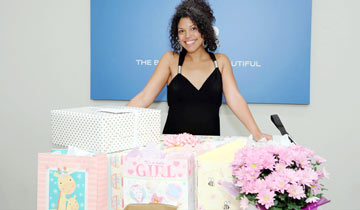 B&B's Karla Mosley welcomes baby girl