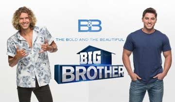 B&B casts Big Brother contestants Tyler Crispen and Brett Robinson