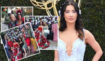 B&B's Jacqueline MacInnes Wood has lavish baby shower -- and we've got photos