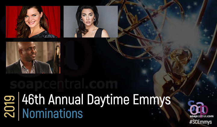 DAYTIME EMMYS: 2019 Daytime Emmys nominations announced. Find out who is up for Emmy gold!