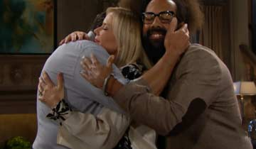 LOL: Reggie Watts crashes every scene of The Bold and the Beautiful
