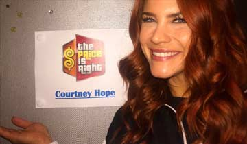 B&B's Courtney Hope signs on to The Price Is Right
