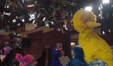 OOPS! Sesame Street Muppets accidentally invade B&B