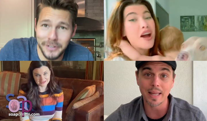 "Cast of The Bold and the Beautiful creates uplifting video: ""We're all in this together"""