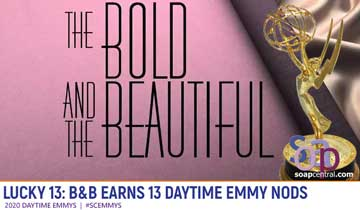 LUCKY 13: B&B earns 13 Daytime Emmy nominations, including four for acting
