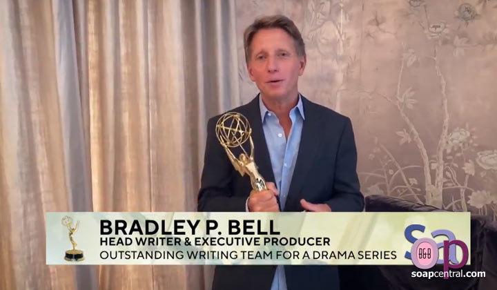 "INTERVIEW: Brad Bell on his Emmy win, future The Bold and the Beautiful story plans, and how the new ""intimate"" scenes are going"