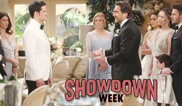 The Bold and the Beautiful brings a showcase of showdowns
