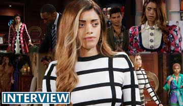INTERVIEW: Kiara Barnes breaks down why Zoe is being so selfish on The Bold and the Beautiful