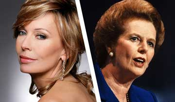 B&B's Lesley-Anne Down to play Margaret Thatcher in film about Ronald Reagan