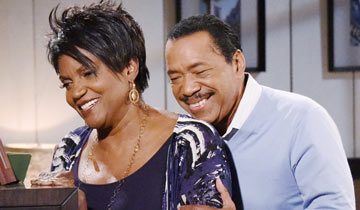 B&B's Obba Babatundé and Anna Maria Horsford return for the holidays