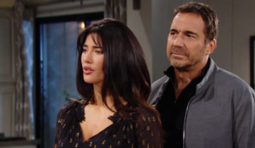 Taylor leaned on Ridge and Steffy and revealed her deepest fears