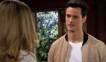 Thomas encouraged Hope to have Liam visit Steffy and the girls in Paris