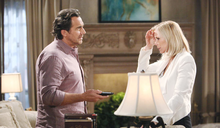 An untimely death tests Brooke and Ridge's relationship