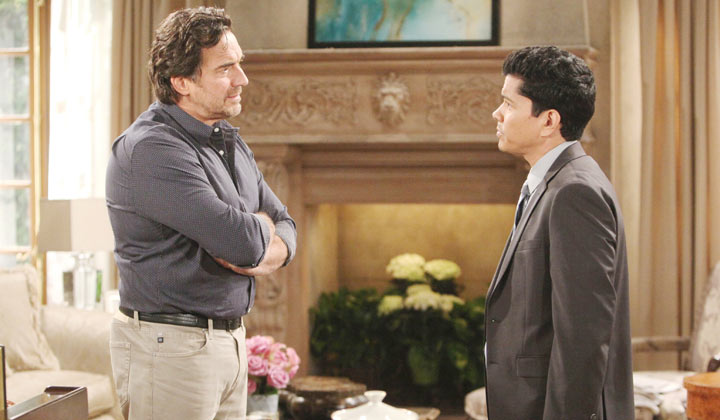 Ridge is troubled when Detective Sanchez wants to question Thomas about Emma's death