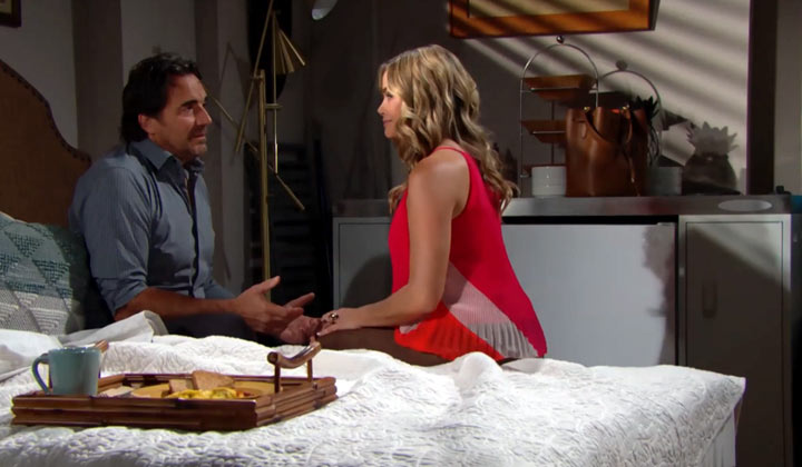 Ridge and Shauna make a secret pact