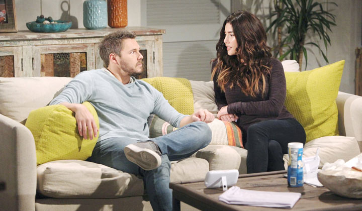 Steffy attempts to reassure Liam that Thomas is not a threat to anyone