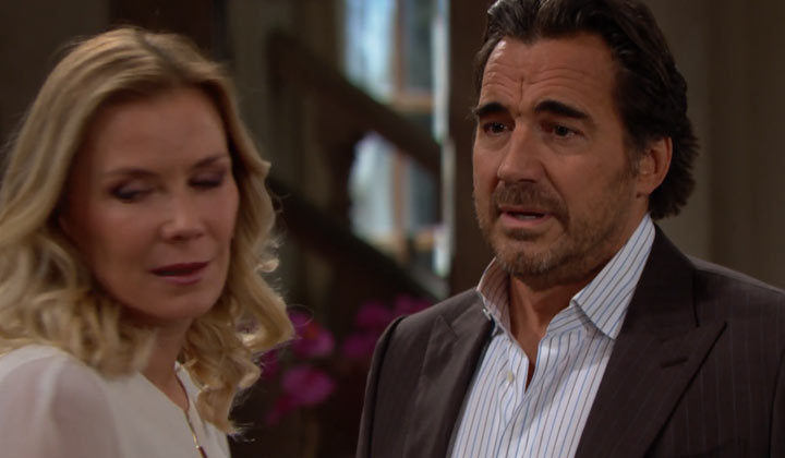 Is Brooke taking too hard a line regarding Thomas, or is Ridge simply in denial?