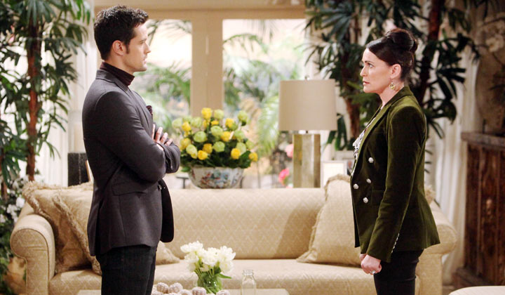 Thomas asks Quinn to help in bringing Brooke dow
