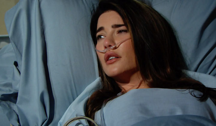 Steffy begins to realize how severely she's been injured