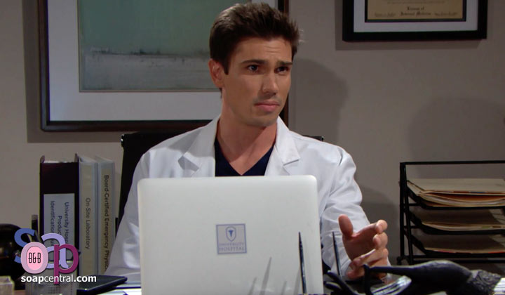 Do you agree with Liam's assessment that Finn is to blame for Steffy's opioid addiction?
