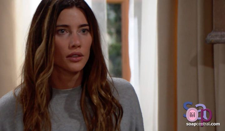 Steffy accused Liam of stealing her daughter