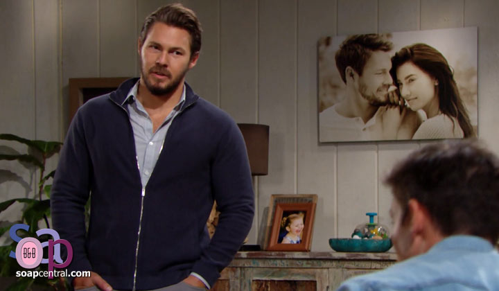 How long do you think Liam will hold to not interfering with Steffy and Finn?