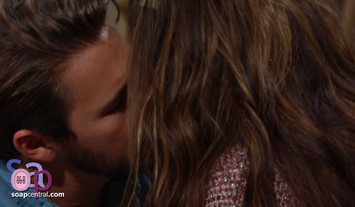 Unable to forgive Hope, Liam made out with Steffy